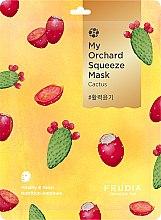 Düfte, Parfümerie und Kosmetik Vitalisierende Tuchmaske mit Kaktus - Fruida My Orchard Squeeze Mask Cactus