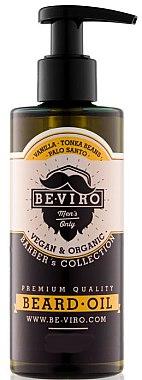 Bartöl mit Tonkabohnen - Be-Viro Beard Oil Vanilla Palo Santo Tonka Boby — Bild N3