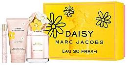 Düfte, Parfümerie und Kosmetik Marc Jacobs Daisy Eau So Fresh - Duftset (Eau de Toilette 125ml + Eau de Toilette 10ml + Körperlotion 150ml)