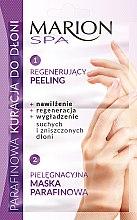 Düfte, Parfümerie und Kosmetik 2in1 Peeling und Maske für Hände mit Paraffin - Marion SPA Mask
