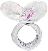 Düfte, Parfümerie und Kosmetik Haarband mit Ohren grau - Glov Spa Bunny Ears Headband