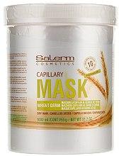 Pflegende Haarmaske mit Weizenkeimöl - Salerm Mascarilla Capilar  — Bild N4