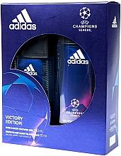 Adidas UEFA Champions League Victory Edition - Duftset (Deodorant-Spray/75ml+Duschgel/250ml) — Bild N1
