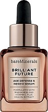Düfte, Parfümerie und Kosmetik Anti-Aging Gesichtsserum - Bare Escentuals Bare Minerals Brilliant Future Age Defence & Renew Serum