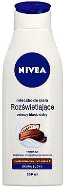 Körpermilch mit Kakaobutter für trockene Haut - Nivea Cacao Body Milk — Bild N2