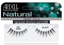 Düfte, Parfümerie und Kosmetik Künstliche Wimpern - Ardell Natural Lashes Demi Black 102