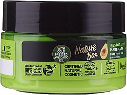 Düfte, Parfümerie und Kosmetik Intensive Haarmaske mit Avocadoöl - Nature Box Avocado Oil Maska