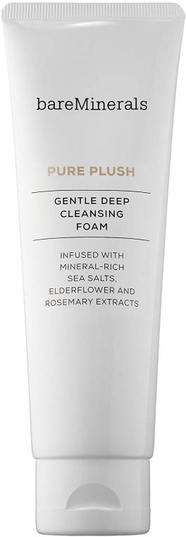 Gesichtsschaum mit Holunder- und Rosmarin-Extrakten - Bare Escentuals Bare Minerals Cleanser Pure Plush Gentle Deep Cleansing Foam — Bild N1
