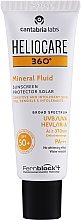 Düfte, Parfümerie und Kosmetik Mineralisches Sonnenschutzfluid für das Gesicht SPF 50+ - Cantabria Labs Heliocare 360º Mineral Fluid SPF 50+
