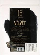 Handschuh zum Auftragen von Bräunungsprodukte - Sosu by SJ Dripping Gold Luxury Tanning Mitt Velvet — Bild N2
