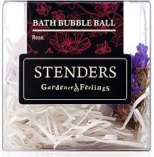 "Düfte, Parfümerie und Kosmetik Badebombe ""Rosa Sorbet"" - Stenders Rose Bath Bubble-Ball"