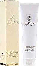 Düfte, Parfümerie und Kosmetik Straffender Körperbalsam mit 24-Karat-Goldpartikeln - Herla Gold Supreme 24k Gold Shimmer Firming Body Balm
