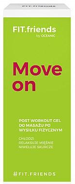 Massagegel zur Regeneration der Muskeln nach dem Training - AA Fit.Friends Move On Post Workout Gel — Bild N1