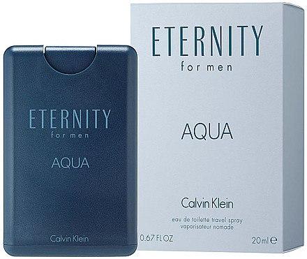 Calvin Klein Eternity Aqua for Men Travel Spray - Eau de Toilette — Bild N1