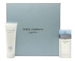 Düfte, Parfümerie und Kosmetik Dolce & Gabbana Light Blue - Duftset (Eau de Toilette 100ml + Körpercreme 100ml)