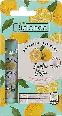 Lippenbalsam Exotic Yuzu - Bielenda Exotic Yuzu Lip Balm — Bild N2