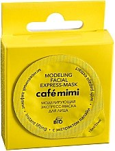 Düfte, Parfümerie und Kosmetik Modellierende Express-Gesichtsmaske mit Papayaextrakt - Le Cafe de Beaute Cafe Mimi Modeling Facial Express-Mask