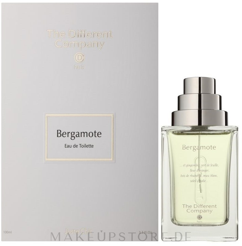 The Different Company Bergamote - Eau de Toilette  — Bild 100 ml