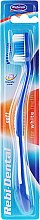 Düfte, Parfümerie und Kosmetik Zahnbürste weich Rebi-Dental M43 blau - Mattes