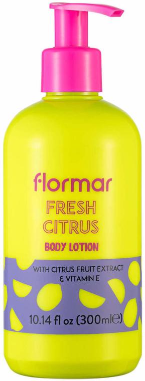 Körperlotion mit Zitrusfruchtextrakt und Vitamin E - Flormar Fresh Citrus Body Lotion — Bild N1