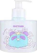 Düfte, Parfümerie und Kosmetik Natürliche Flüssigseife mit Aroma von Heidelbeeren und Brombeeren - Oh!Tomi Panda Liquid Soap