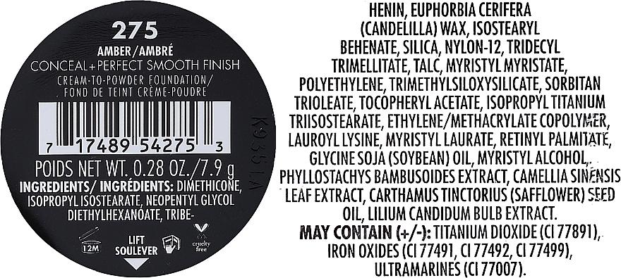 Cremige Puder-Foundation mit mattem Finish - Milani Conceal + Perfect Smooth Finish Cream To Powder — Bild N5