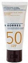 Düfte, Parfümerie und Kosmetik Sonnenschutzcreme für das Gesicht mit Joghurt - Korres Sunscreen Face Cream Yoghurt SPF 50
