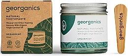 Natürliche und mineralstoffreiche Zahnpasta mit Minzgeschmack - Georganics Spearmint Natural Toothpaste — Bild N1