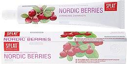 Düfte, Parfümerie und Kosmetik Stärkende Zahnpasta mit Extrakt aus nordischen Beeren - Splat Special Nordic Berries Toothpaste