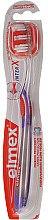 Düfte, Parfümerie und Kosmetik Zahnbürste mittel Caries Protection InterX violett-rot - Elmex Toothbrush Caries Protection InterX Medium