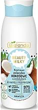 Düfte, Parfümerie und Kosmetik Feuchtigkeitsspendende Duschmilch mit Kokosnuss - Bielenda Beauty Milky Moisturizing Coconut Shower & Bath Milk
