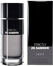 Düfte, Parfümerie und Kosmetik Jil Sander Strictly Night - Eau de Toilette