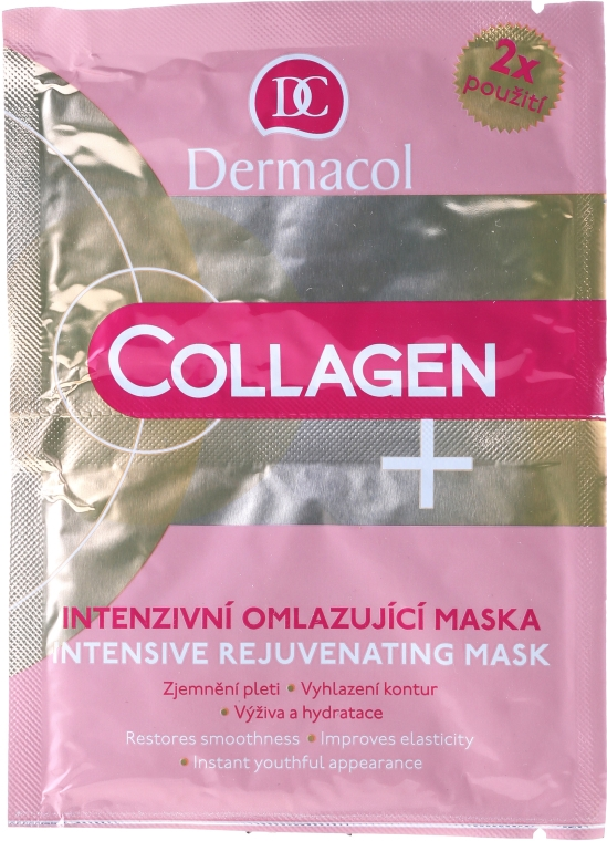 Intensive Anti-Aging-Gesichtsmaske - Dermacol Collagen+ Intensive Rejuvenating Mask — Bild N1