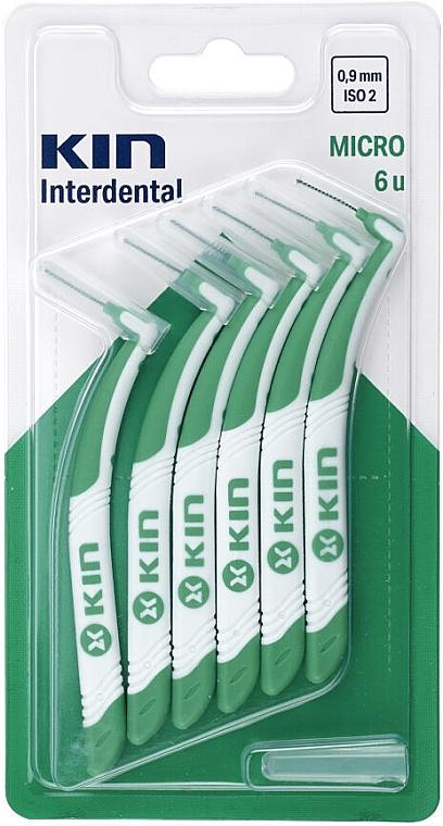 Interdentalzahnbürste 0,9 mm 6 St. - Kin Micro ISO 2 — Bild N1