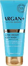 Düfte, Parfümerie und Kosmetik Feuchtigkeitsspendende Duschcreme mit Marulaöl - Argan+ Super Creamy Body Wash