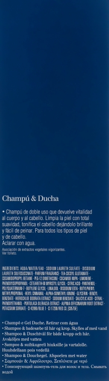 Erfrischendes Haar- und Körpershampoo - Clarins Men Shampoo & Shower — Bild N3