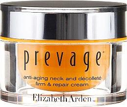 Straffende Pflege für Hals, Dekolleté und die Gesichtskonturen - Elizabeth Arden Prevage Neck and Decollette Firm & Repair Cream — Bild N2