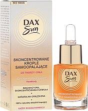 Düfte, Parfümerie und Kosmetik Selbstbräuner-Konzentrat für Gesicht und Körper - Dax Sun Self-tanning Concentrated Drops