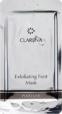 Exfolierende Fußmaske-Socken - Clarena Exfoliating Foot Mask — Bild N1