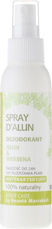 Antibakterielles Deospray mit Alaunstein und Verbene - Beaute Marrakech Alum & Verbena — Bild N1