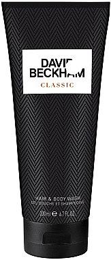 David Beckham Classic Hair & Body Wash - Shampoo und Duschgel 2in1  — Bild N1