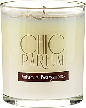 Düfte, Parfümerie und Kosmetik Duftkerze Ambra e Bergamotto - Chic Parfum Ambra E Bergamotto Candle