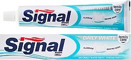 Aufhellende Zahnpasta Family Daily White - Signal Family Daily White Toothpaste — Bild N2