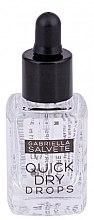 Düfte, Parfümerie und Kosmetik Schnelltrocknender Nagellack mit Inca-Inchi-Öl und Vitamin E - Gabriella Salvete Nail Care Quick Dry Drops