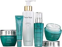 Düfte, Parfümerie und Kosmetik Gesichtspflegeset - Oriflame NovAge True Perfection (Gel 150ml+Augencreme 15ml+Serum 30ml+Tagescreme 50ml+Nschtcreme 50ml)