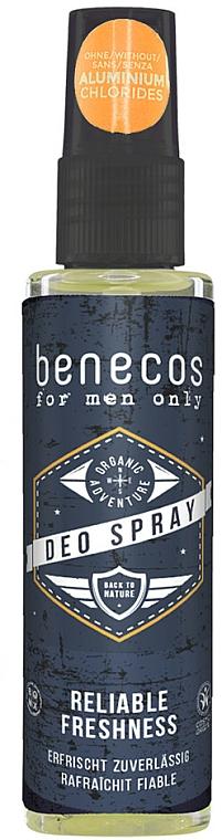 Erfrischendes Deospray - Benecos For Men Only Deo Spray — Bild N1