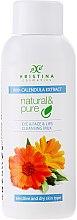 Düfte, Parfümerie und Kosmetik Reinigungsmilch mit Ringelblumen - Hristina Cosmetics Cleansing Milk With Calendula Extract