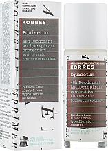 Deospray Antitranspirant - Korres 48h Deodorant — Bild N1