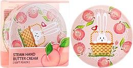 Düfte, Parfümerie und Kosmetik Pflegende Handcreme mit Pfirsich - SeaNtree Steam Hand Butter Cream Soft Peach Bunny