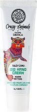 """Düfte, Parfümerie und Kosmetik Bio-Handcreme """"Warme Handschuhe"""" - Natura Siberica Crazy Animals Bio Hand Cream Warm Mittens"""